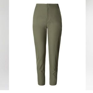Lululemon City Trek Trouser Army Green Pants 2